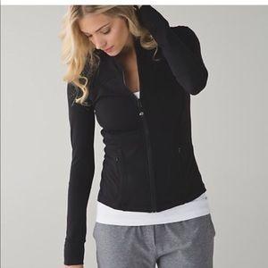 Lululemon Black Zipper Zip Up Jacket Shirt #376